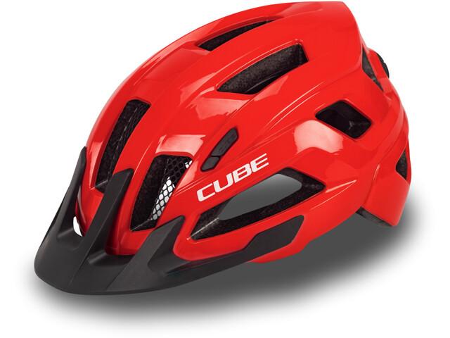 Cube Steep Casco, rojo